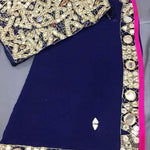 Dark Blue Online Shopping Of Bollywood Fashion Wear