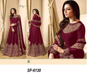 Maroon Color Hotselling Anarkali Salwar Suits