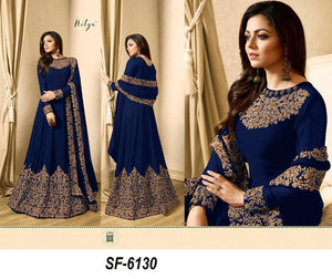 Blue Color Hotselling Anarkali Salwar Suits