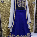 Dark Blue Banglori Bollywood Chaniya Choli Online ,Indian Dresses - 2