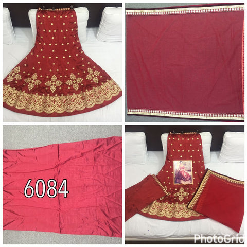 Red Zoya Silk Designer Lehengas With Price