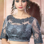 Fine Dove Grey Latest Lehenga Choli Online Shopping ,Indian Dresses - 2