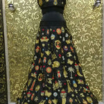 Ravishing Black Banglori New Latest Lehenga Choli ,Indian Dresses - 2