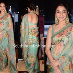 Anushka Sharma Floral Digital Printed Latest Saree Designs Online Shopping