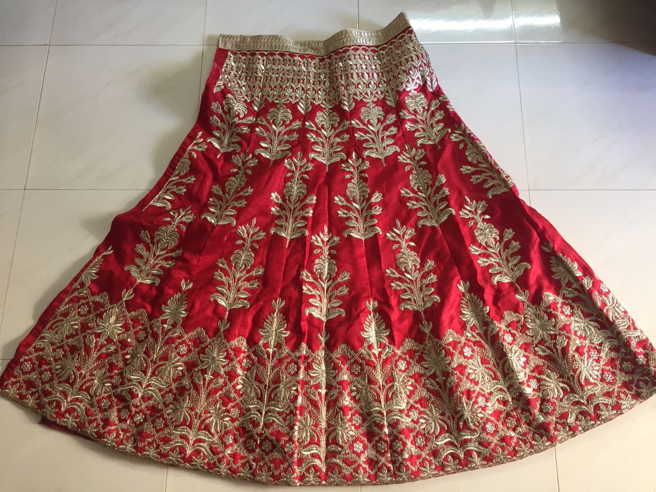 Red Heavy Embroidered Bollywood Lehengas Collection ,Indian Dresses - 2