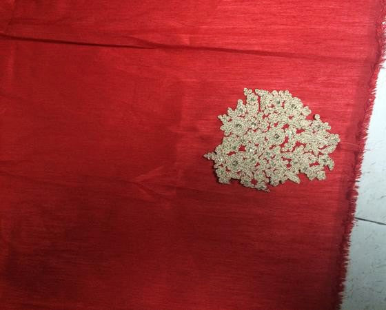Tomato Red Raw Silk Bollywood Lehenga Choli Online India ,Indian Dresses - 3