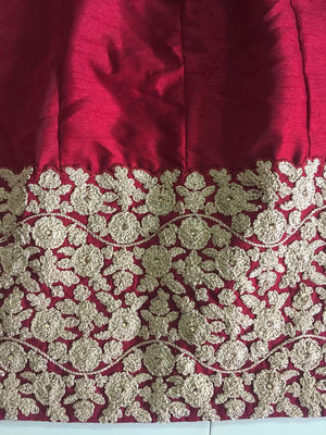 Elegant Maroon Banglori Bollywood New Indian Lehenga Designs ,Indian Dresses - 9
