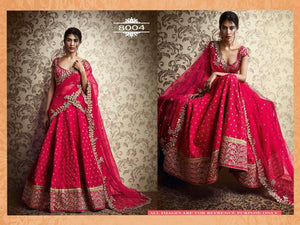 Rani Pink Silk Online Shopping For Wedding Lehengas