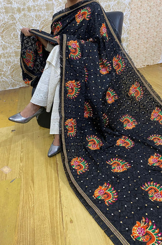Light Orange Art Silk Embroidered Latest Wedding Sarees Online With Price