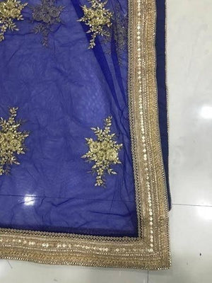 Trendy Dark Blue Indian Lehenga Choli For Wedding ,Indian Dresses - 8