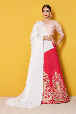 Latest Pink Bollywood Lehenga Choli Online Shopping