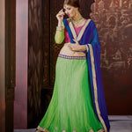 Lime Green Lehenga Choli Online ,Indian Dresses - 1