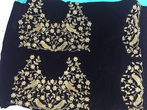 Black Georgette Bollywood Latest Sarees ,Indian Dresses - 3