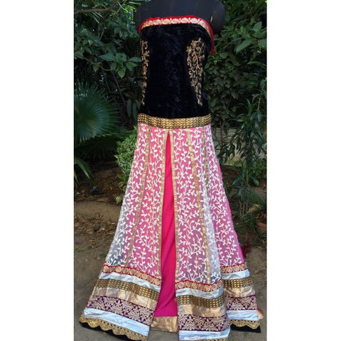 Long Elegant Bollywood Anarkali Suit Online ,Indian Dresses - 2