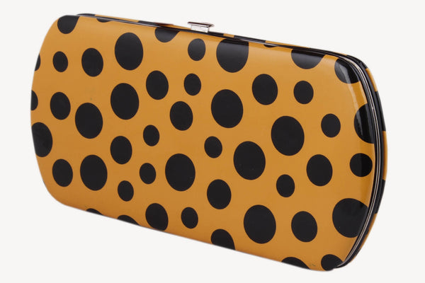 CUTE POLKA DOTS CHROME TAB PURSE ,Indian Dresses - 1
