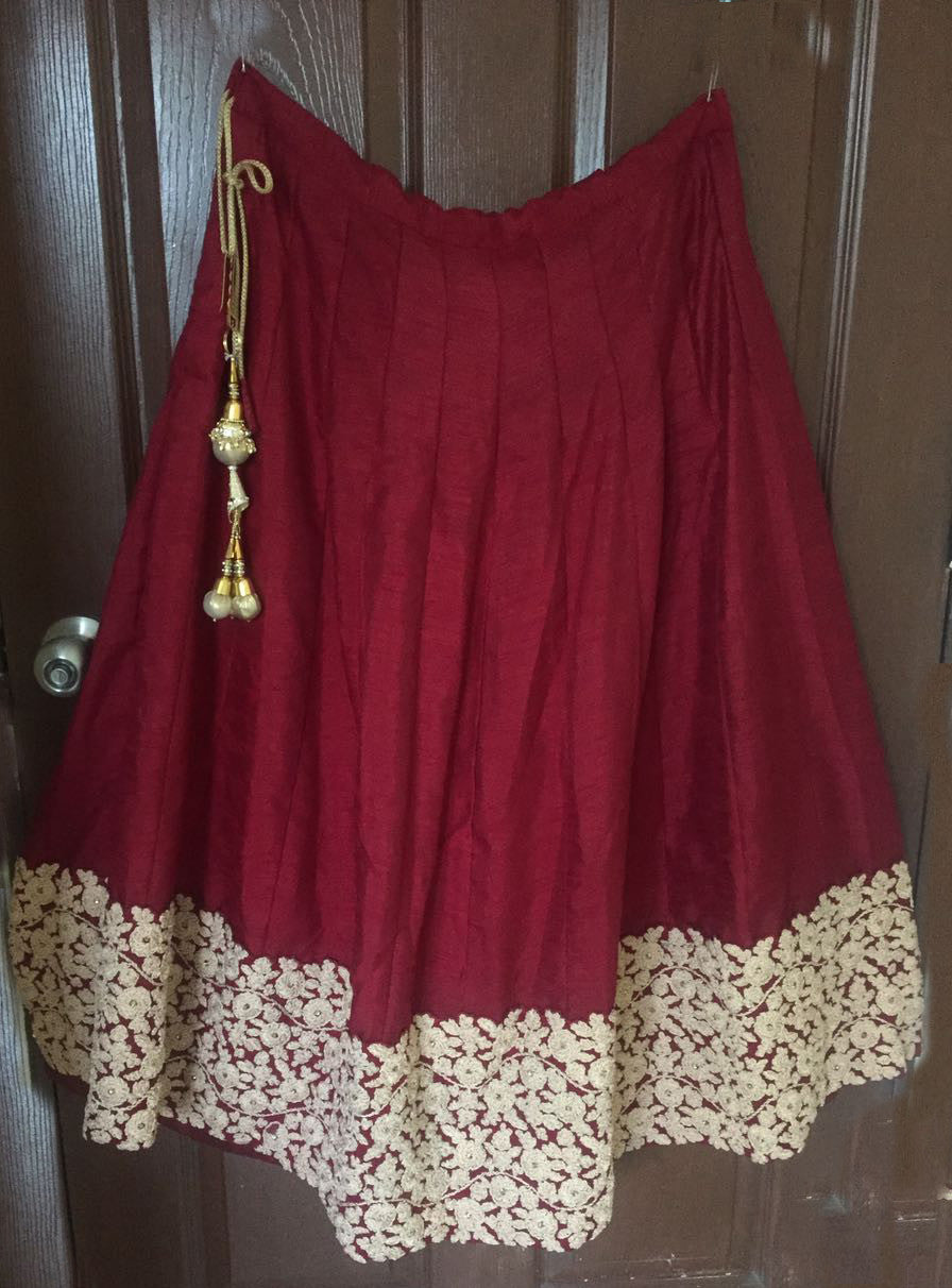 Elegant Maroon Banglori Bollywood New Indian Lehenga Designs ,Indian Dresses - 3