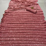 Beautiful Bollywood Sequins Saree with Designer Sequins Blouse