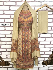 New Beige Indian Anarkali Dress Design Online Shop