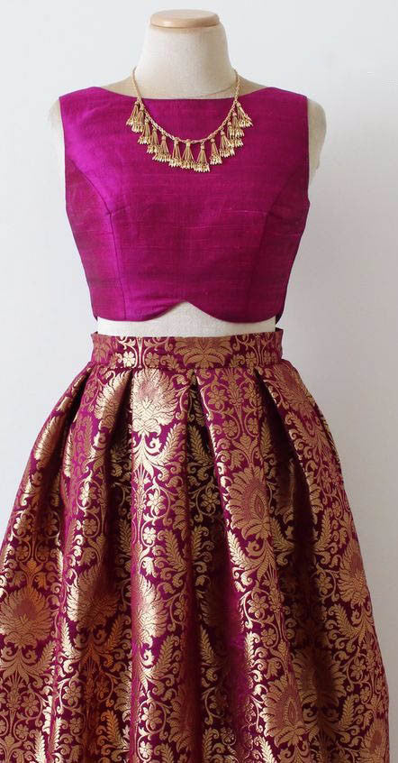 Dark Pink Buy Bollywood Lehengas Online ,Indian Dresses