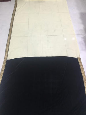 Elegant Black & Cream Bollywood Sarees Online ,Indian Dresses - 6