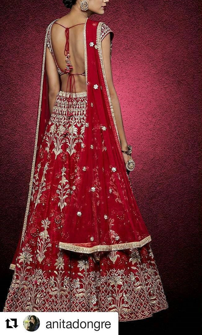Red Heavy Embroidered Bollywood Lehengas Collection ,Indian Dresses - 4