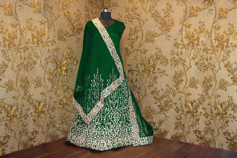 Green Sleeveless Beautiful Anarkali Dresses