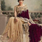Velvet Net Indian Wedding Sarees Online Shopping ,Indian Dresses - 5