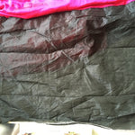 Rani Pink & Black Designer Party Wear Sarees Online ,Indian Dresses - 3