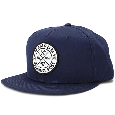 Trading Post Snapback Hat Navy