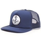 Anchor Trucker Hat Navy