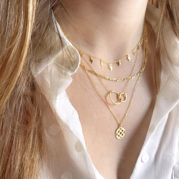 COLLAR MANFRED GOLD