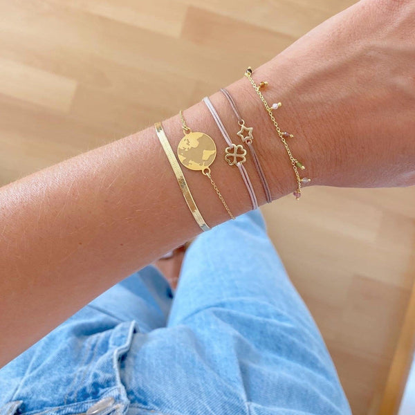 PULSERA LUCK GOLD (Disponible más colores)