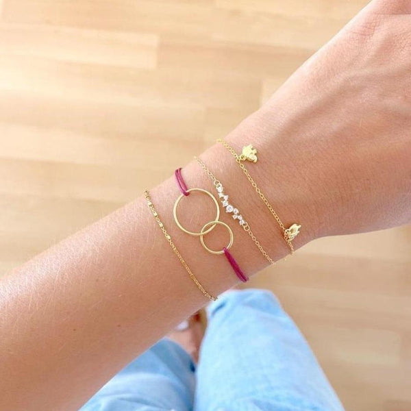 PULSERA MANFEED GOLD (Disponible más colores)