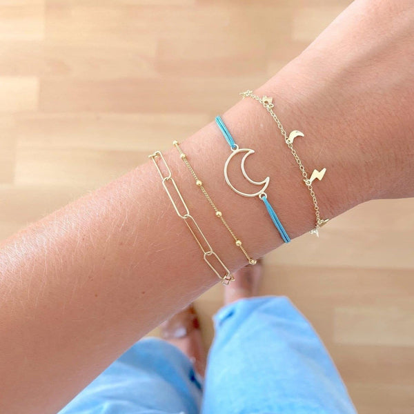 PULSERA MOON GOLD (Disponible más colores)