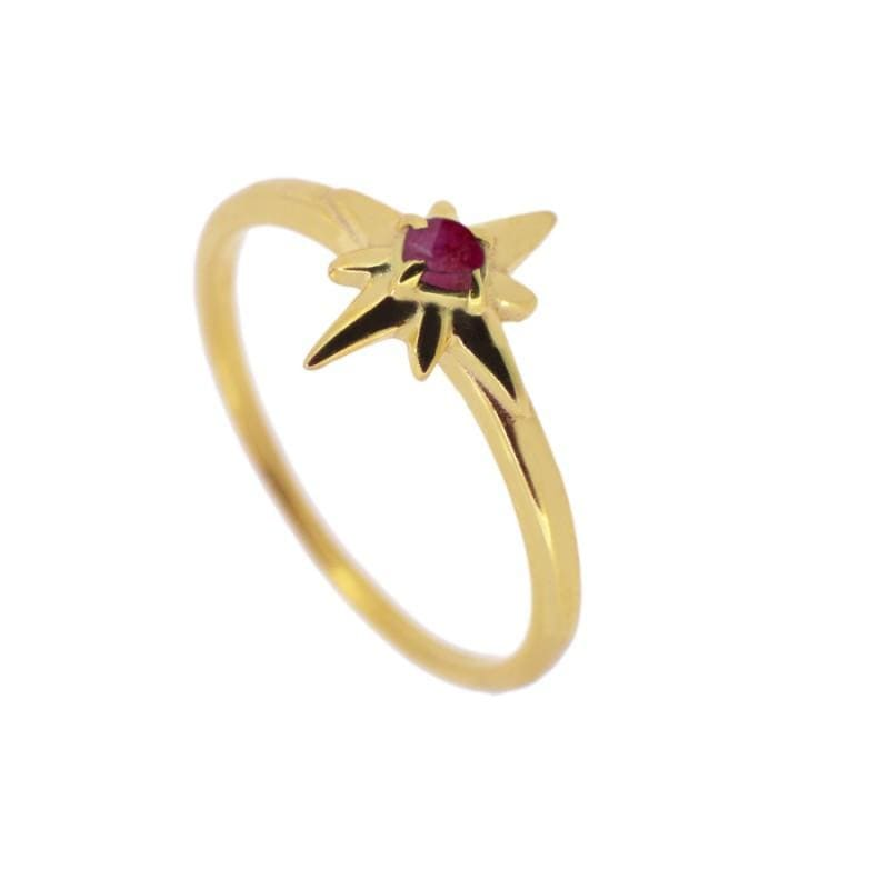 ANILLO INA ROUGE GOLD