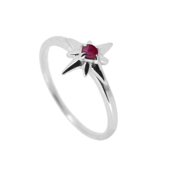 ANILLO INA ROUGE SILVER