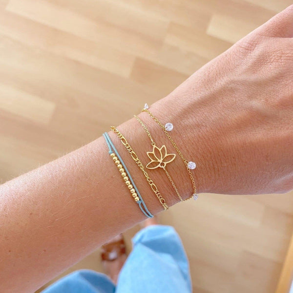PULSERA LOTTO GOLD