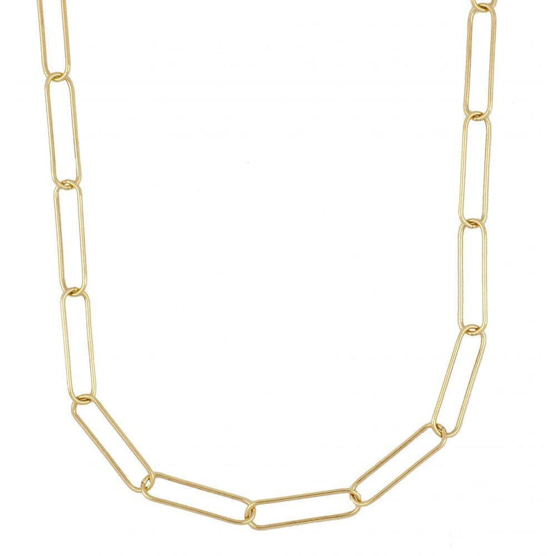 COLLAR BADRA MEDIUM GOLD