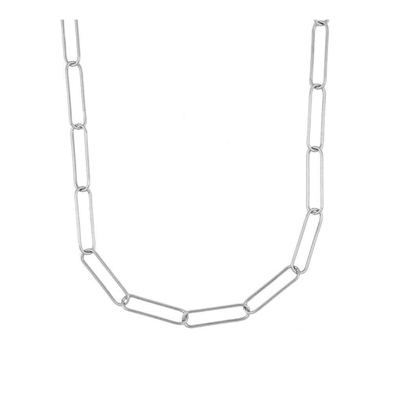 COLLAR BADRA MEDIUM SILVER