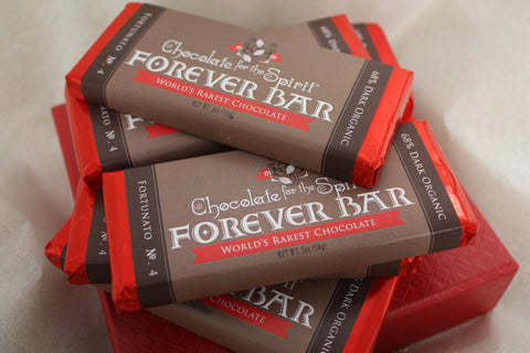 World's Rarest Chocolate Forever Bars