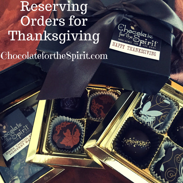 Thanksgiving Gift Box of Chocolates