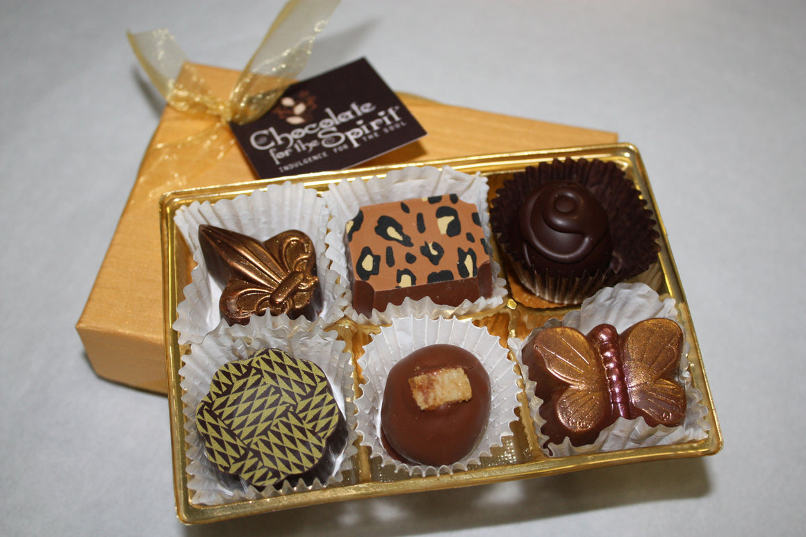 """Gold"" 6 PC Gift Box Assortment"