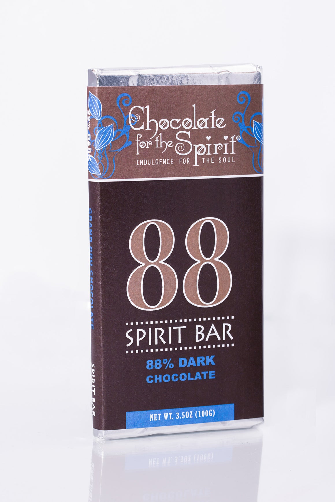 88 Spirit Bar - 88% Dark Chocolate Bar (Grand Cru, single-origin Venezuela)