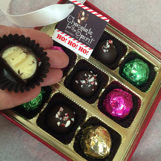 Triple Mint Truffles 9 Piece Box