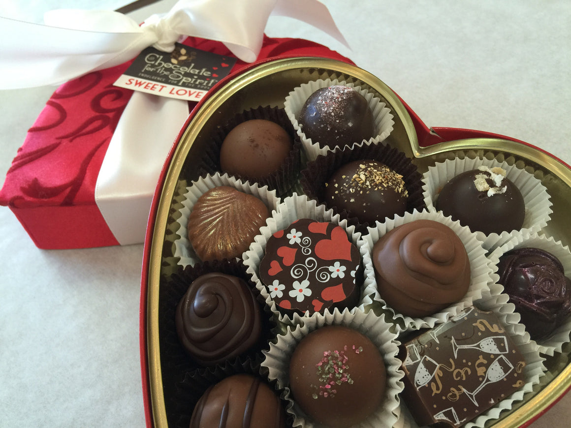 Heart Box Gourmet Assortment