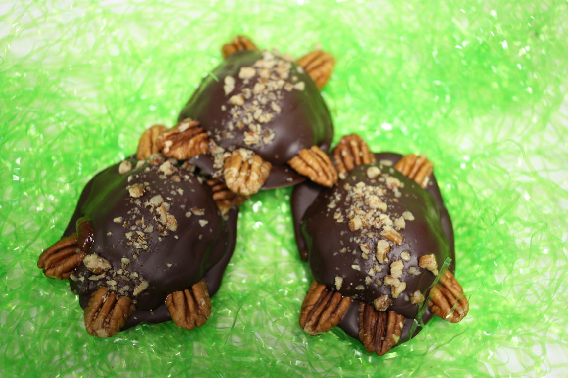 "Indiana Artisan Marketplace Pickup - ""Turtle"" Chocolate/Caramel/Pecan with Sea Salt"