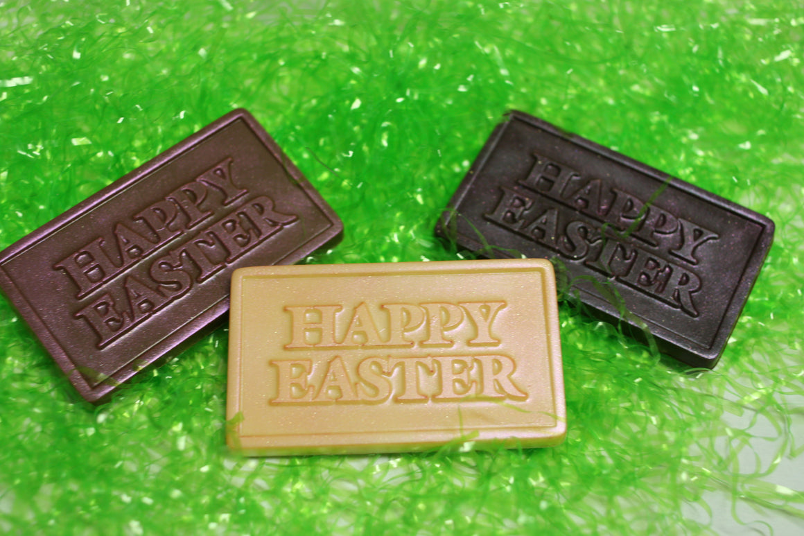 Happy Easter Bar  - Dark, Milk or White