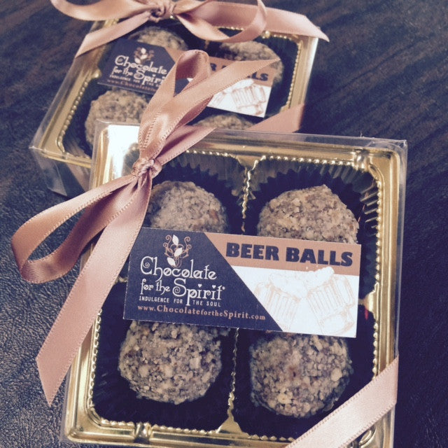 Beer Ball Chocolate Truffles