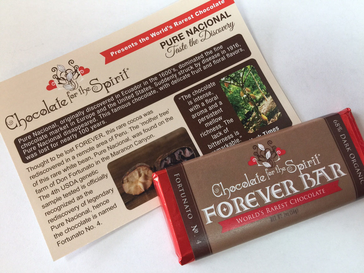 "20 Bars Special Offer - World's Rarest Chocolate ""Forever Bar"" - 20 Bars!"