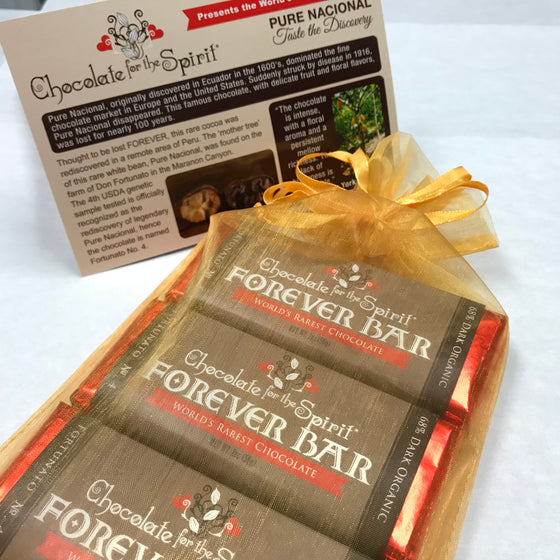 "World's Rarest Chocolate ""Forever Bar"" - 6 Bars Gift"